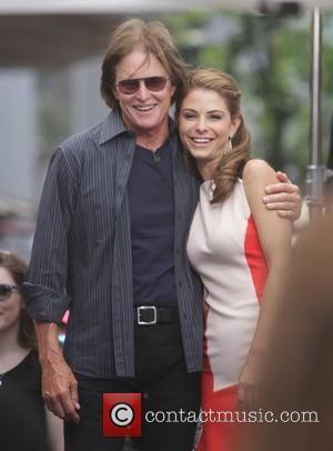 Bruce Jenner and Maria Menounos