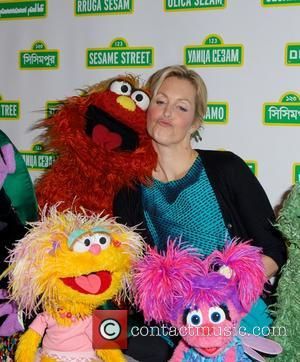 Sesame Street and Ali Wentworthali Wentworth