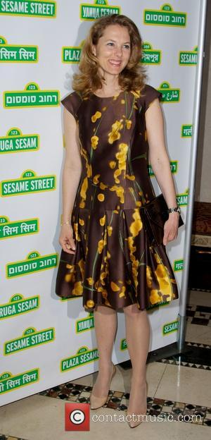 Sesame Street and Sarah Zeid