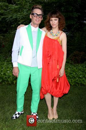 Todd Thomas and Parker Posey