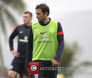 Frank Lampard - The England football team hold a training session in Rio de Janeiro ahead of their friendly match...