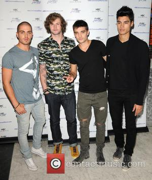The Wanted, Siva Kaneswaran, Jay Mcguiness, Max George and Tom Parker