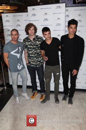 Max George, Jay McGuiness, Tom Parker, Siva Kaneswaran and The Wanted - The Wanted attend a meet and greet at...
