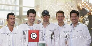 New Kids On The Block, Donnie Wahlberg, Danny Wood, Jordan Knight, Jonathan Knight and Joey Mcintyre