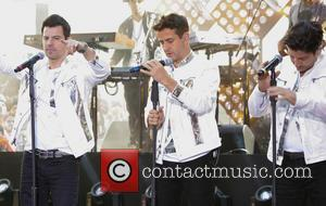 New Kids On The Block, Jordan Knight, Jonathan Knight and Joey Mcintyre