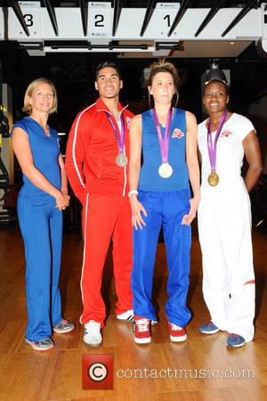 Jade Jones, Louis Smith Mbe, Nicola Adams Mbe and Sophia Warner