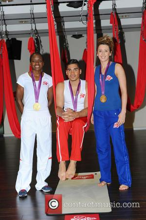 Nicola Adams, Louis Smith and Jade Jones