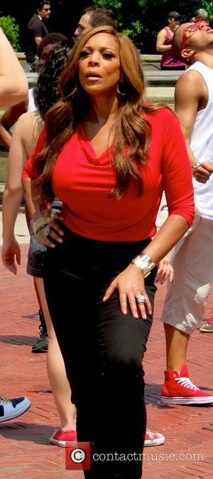 Wendy Williams - Wendy Williams films a television commercial on location at Bethesda Fountain in Central Park - New York...