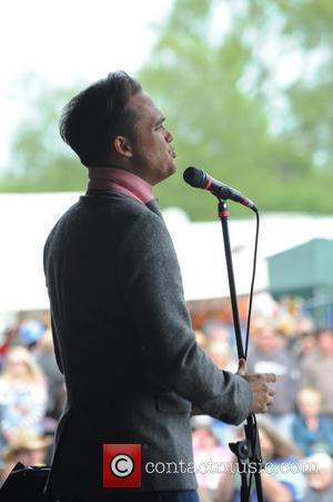 Gareth Gates - The Acoustic Un-Plugged Festival of Britain at Uttoxeter Race Course - Day 2 - Uttoxeter, United Kingdom...