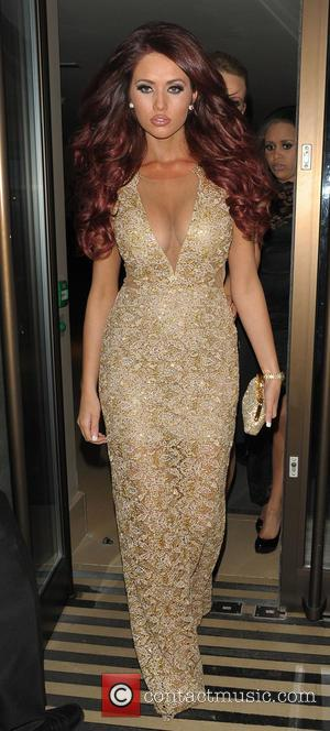 Amy Childs - Amy Childs celebrates her birthday at Cafe de Paris - London, England, United Kingdom - Saturday 1st...