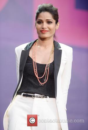 Freida Pinto - 'The Sound of Change Live' concert at Twickenham Stadium - London, England, United Kingdom - Saturday 1st...