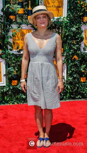 Martha Plimpton - The Sixth Annual Veuve Clicquot Polo Classic at Liberty State Park - Arrivals - Jersey City, NJ,...