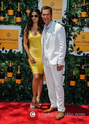 Matthew Mcconaughey and Camilla Alves