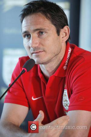 Frank Lampard - England football manager Roy Hodgson and midfielder Frank Lampard speak at a press conference ahead of the...