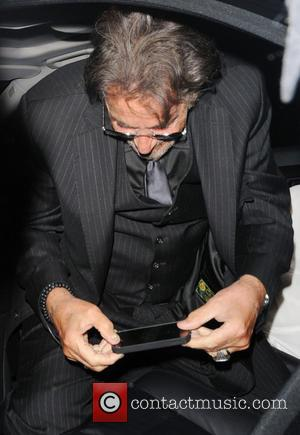 Al Pacino - Celebrities leave The Ritz hotel - London, United Kingdom - Saturday 1st June 2013
