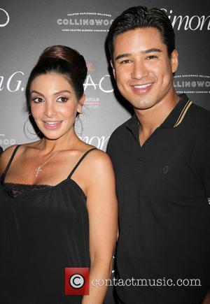 Mario Lopez and Courtney Lopez