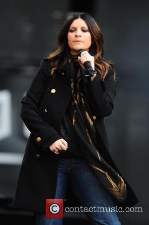 Laura Pausini - Chime for Change concert at Twickenham Stadium - London, United Kingdom - Saturday 1st June 2013