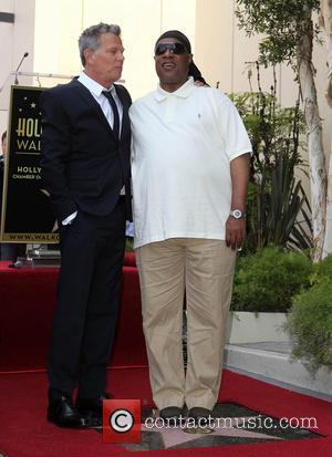 David Foster and Stevie Wonder
