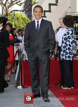 Mayor Antonio Villaraigosa - David Foster Honored With Star On The Hollywood Walk Of Fame - Hollywood, California, United States...