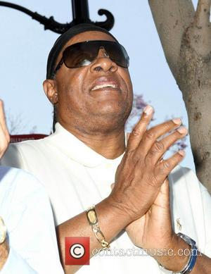 Stevie Wonder - David Foster Honored With Star On The Hollywood Walk Of Fame - Hollywood, California, United States -...