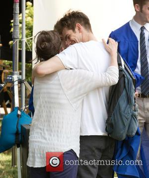 Andrew Garfield and Sally Field - Emma Stone and Andrew Garfield film a kissing scene on the set of 'The...