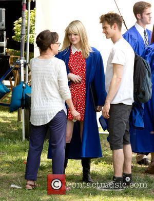 Emma Stone, Andrew Garfield and Sally Field