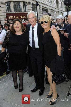 Paul O'Grady, Cheryl Fergison and Linda Henry - An Evening With Al Pacino at The London Palladium - Outside Arrivals...