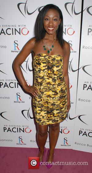 Beverley Knight - An Evening With Al Pacino at The London Palladium - Inside Arrivals - London, England, United Kingdom...