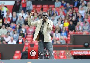 Tinchy Stryder - Red Heart United concert held at Old Trafford - Manchester, United Kingdom - Sunday 2nd June 2013