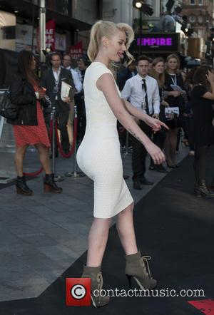 Iggy Azalea - UK film premiere of 'World War Z' held at Empire Leicester Square - Arrivals - London, England,...