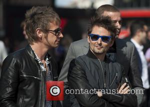 Muse and Matthew Bellamy - UK film premiere of 'World War Z' held at Empire Leicester Square - Arrivals -...