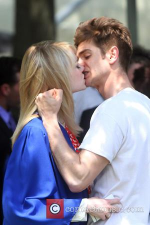 Garfield, Peter Parker, Emma Stone, Gwen Stacy and Spiderman