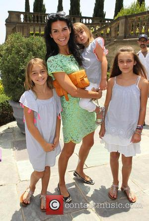 Angie Harmon and Daughters - 7th Annual Kidstock Music And Art Festival - Los Angeles, California, United States - Sunday...