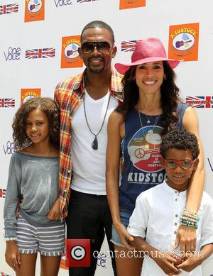 Bill Bellamy and Kristen Bellamy - 7th Annual Kidstock Music And Art Festival - Los Angeles, California, United States -...