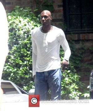 Lamar Odom - Celebrities at Kim Kardashian's Baby Shower in beverly Hills - Los Angeles, California, United States - Sunday...