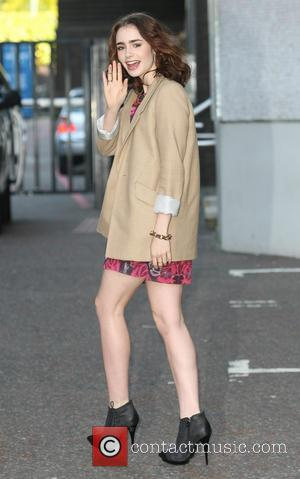 Lily Collins - Lily Collins at the ITV studios - London, United Kingdom - Monday 3rd June 2013