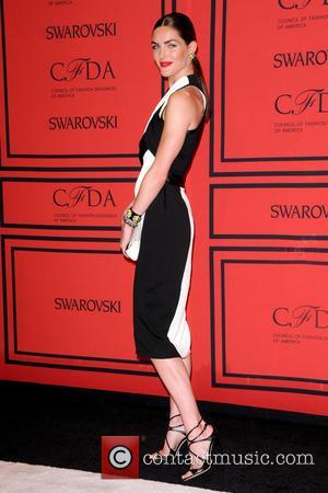 Hilary Rhoda - 2013 CFDA Awards - arrivals - New York City, United States - Monday 3rd June 2013