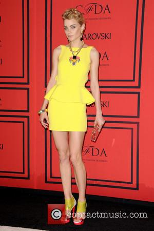 Jessica Stam - 2013 CFDA Awards - arrivals - New York City, United States - Monday 3rd June 2013
