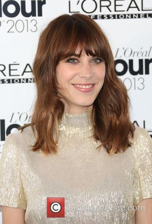 Alexa Chung - The L'Oreal Colour Trophy grand final 2013