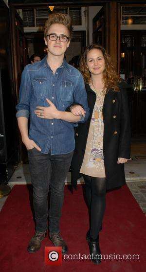 Tom Fletcher and Giovanna Fletcher - Celebrities attend The West End Men Press Night at Vaudeville Theatre - London, United...