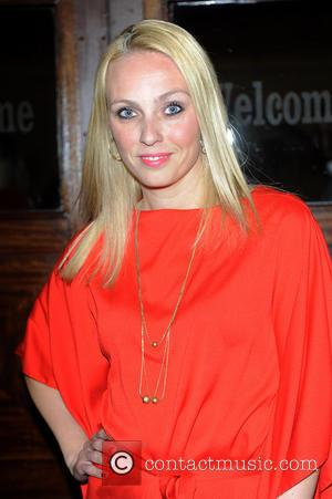 Camilla Dallerup - 'Blind Date'  press night held at the Charing Cross Theatre - Arrivals - London, United Kingdom...