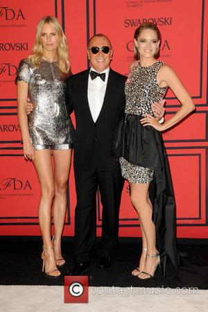 Karolina Kurkova, Cody Horn and Michael Kors
