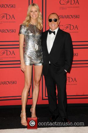 Karolina Kurkova and Michael Kors