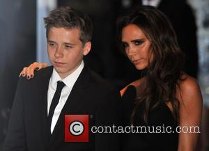 Brooklyn Beckham and Victoria Beckham