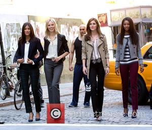 Karolina Kurkova, Hilary Rhoda and Models
