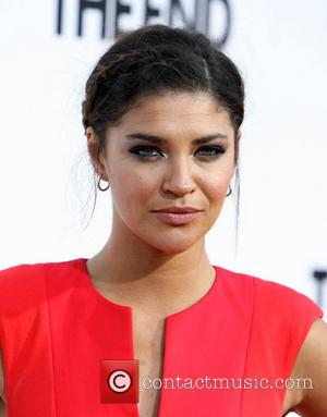 Jessica Szohr - Premiere of This Is The End