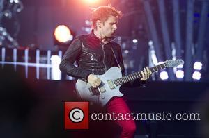 Matthew Bellamy - Muse performing live in concert their 'The 2nd Law World Tou' at the Amsterdam ArenA - Amsterdam,...