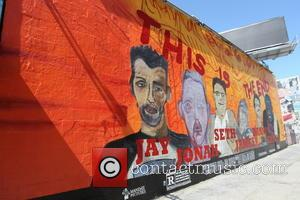 James Franco, This Is The End and Mural