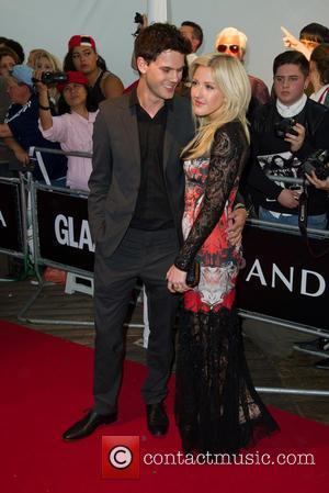 Ellie Goulding and Jeremy Irvine