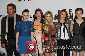 Gavin Rossdale, Taissa Farmiga, Katie Chang, Claire Julien and Emma Watson